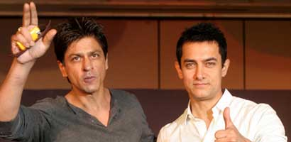 SRK : Will be nice if Aamir Khan & I can work together