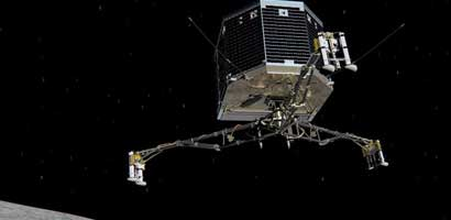Rosetta spacecraft lands probe on comet